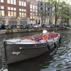 amigo boot vorderansicht