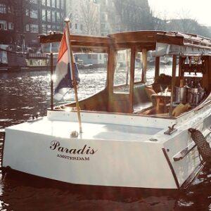paradis boat side